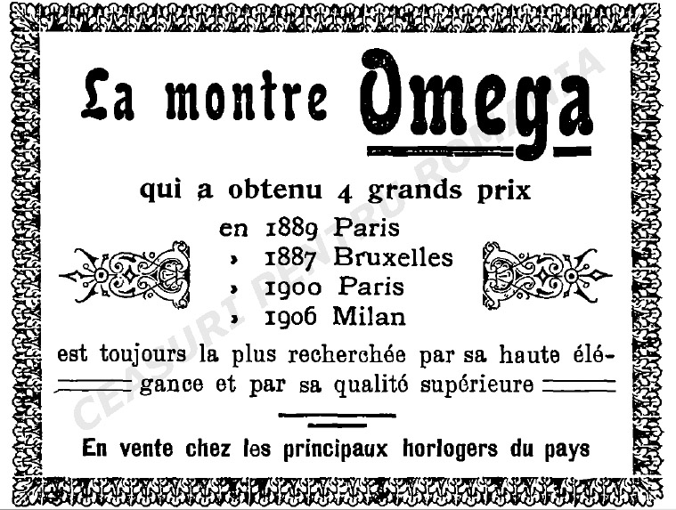 ad Omega | D. Wormser | 1911