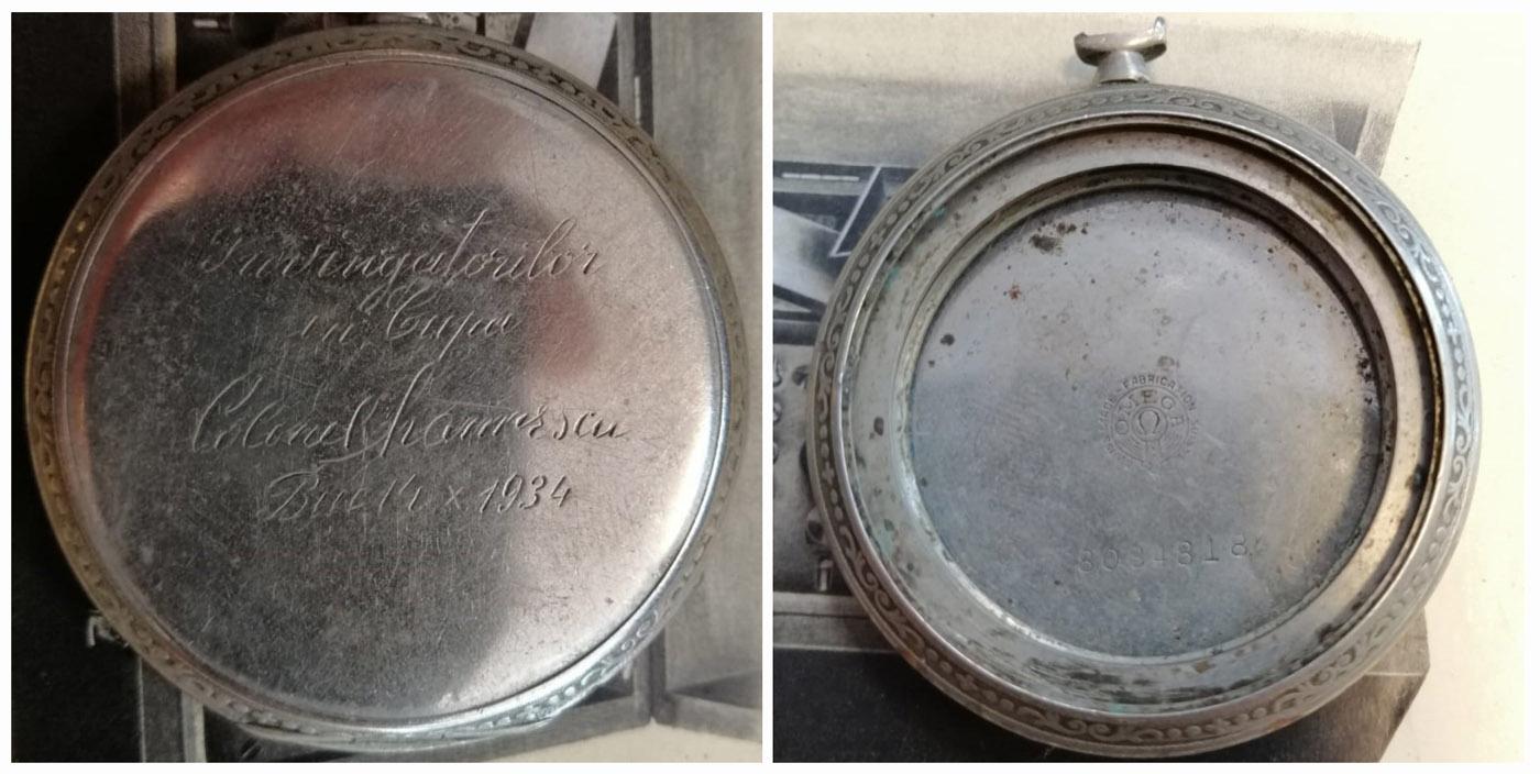 carcasa ceas Omega | Cupa Colonel Marinescu | 1934