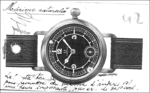 OMEGA 1937 | pilot