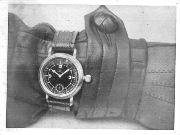 OMEGA 1937 | ceas la mana pilot