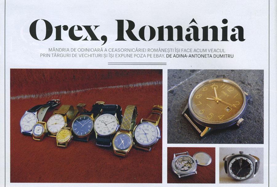 Esquire | Orex Romania