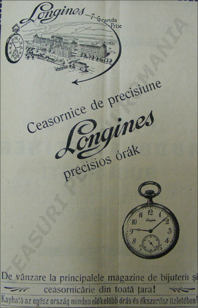 Orologiul Longines | 1924