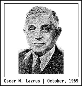 Oscar Lazrus | 1959