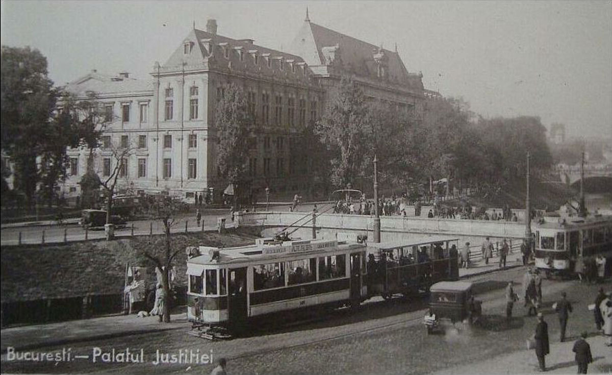 Palatul de Justitie - Bucuresti (1925)