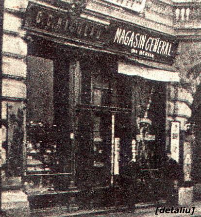 magazin G.C.Nicolau - detaliu