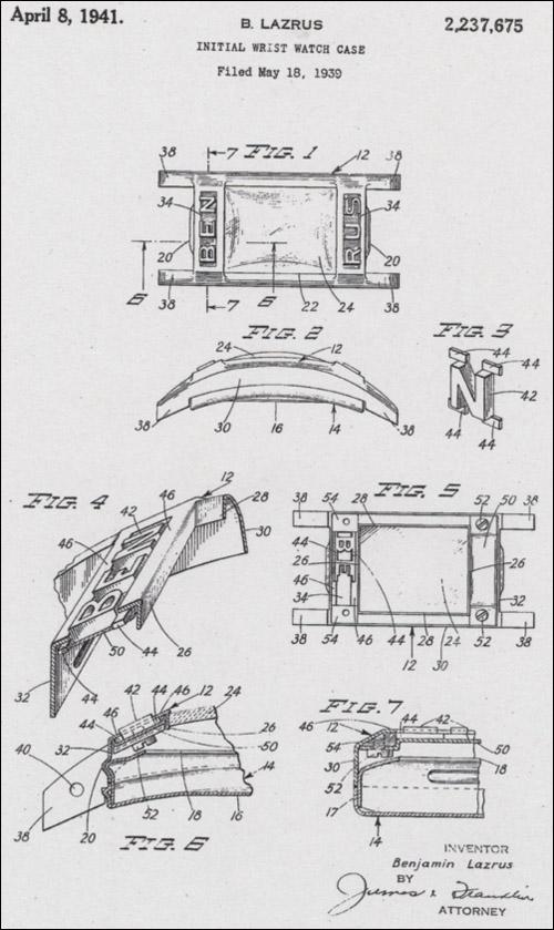 "[17] patent (1) ""Signet""| 1941"