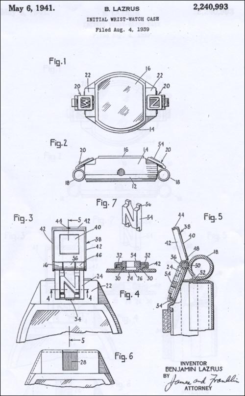 "[18] patent (2) ""Signet""| 1941"