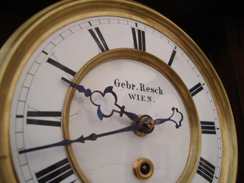pendula Gebruder Resch | sf. sec. XIX