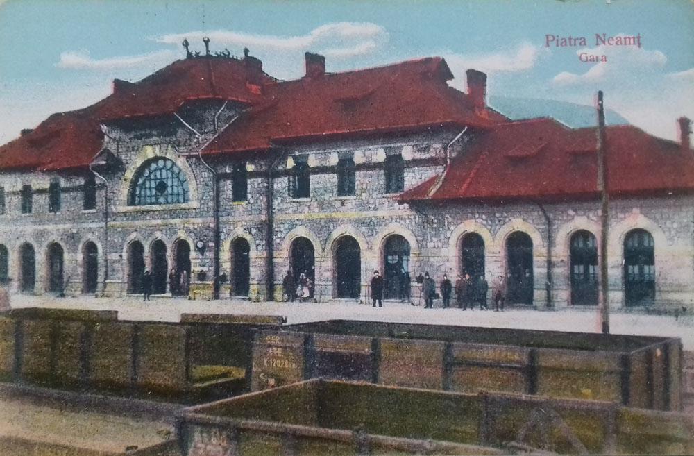 Piatra-Neamt | gara anii 1920-1930