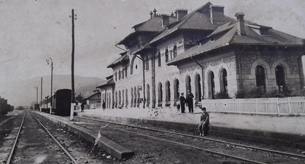 Piatra-Neant | gara in perioada interbelica
