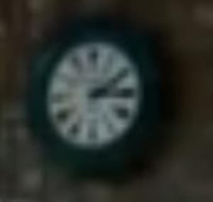 ceas Paul Garnier | gara Poiana Tapului