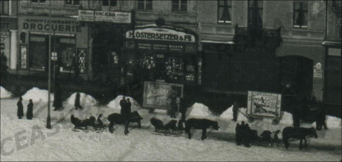 Pravalia Ostersetzer - iarna | Sirul Graului nr. 9 | perioada interbelica
