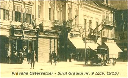 Pravalia Ostersetzer | Sirul Graului nr. 9