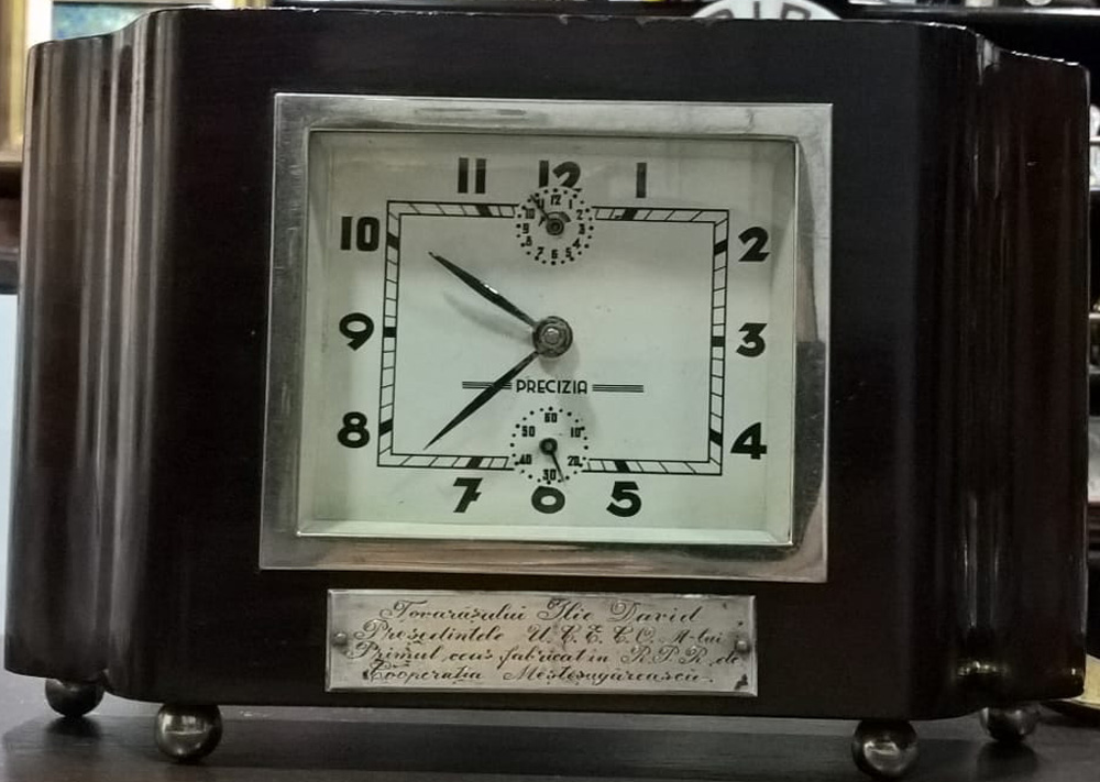 primul ceas Precizia Arad | 1954