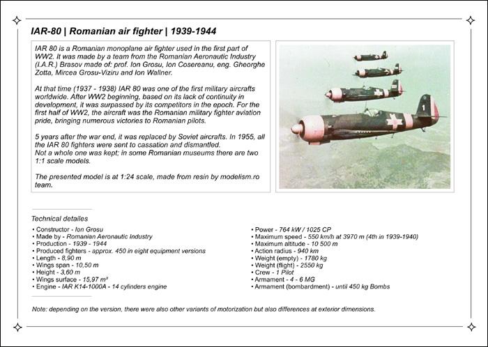prezentare IAR-80