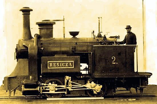 prima locomotiva Resicza | 1872
