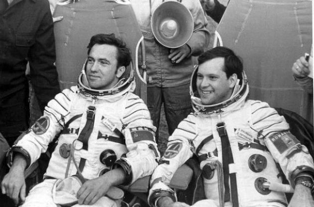 Dumitru Prunariu and Leonid Popov | Soiuz 40