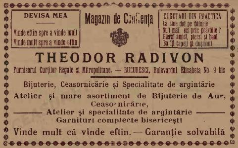 Theodor Radivon | reclama