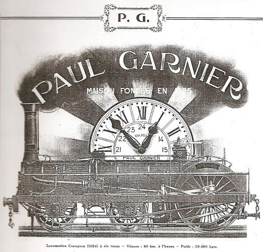 Paul Garnier | Horlogerie Speciale pour Chemin de Fer