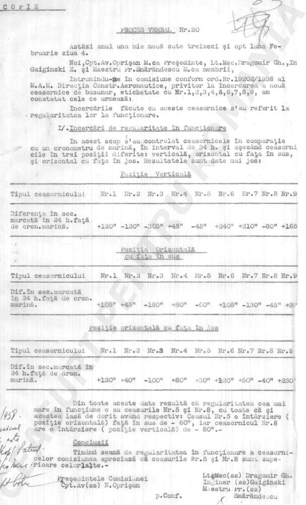 referat Longines - Omega | cronometru M.A.M.| 1938 | pagina 2
