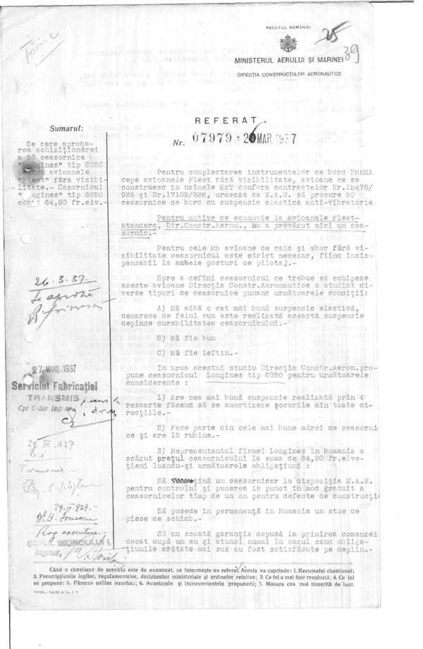 [47] Referat 1-07979/1937 M.A.M. D.C.A.