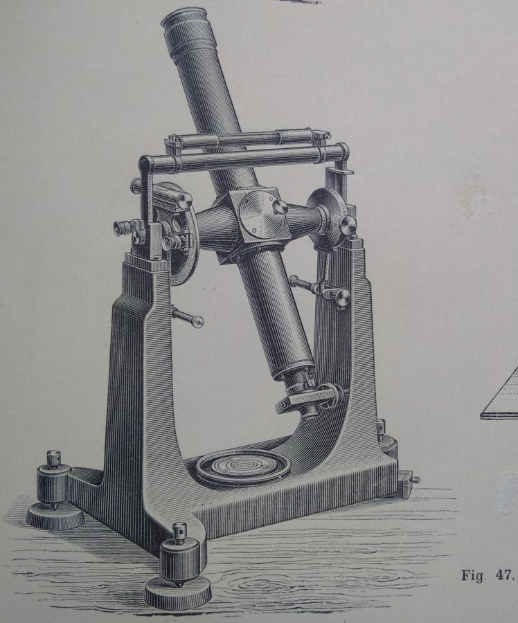 Luneta meridiana - Sala Meridiana a Institutului Meteorlogic al Romaniei (schita 1895) | detalii in continutul prezentarii