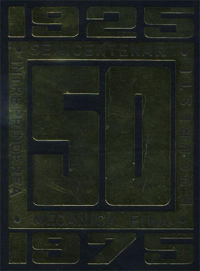 Mecanica Fina | 1925 - 1975