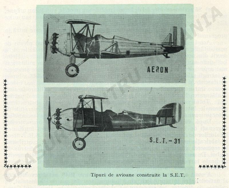 Tipuri de avioane - SET