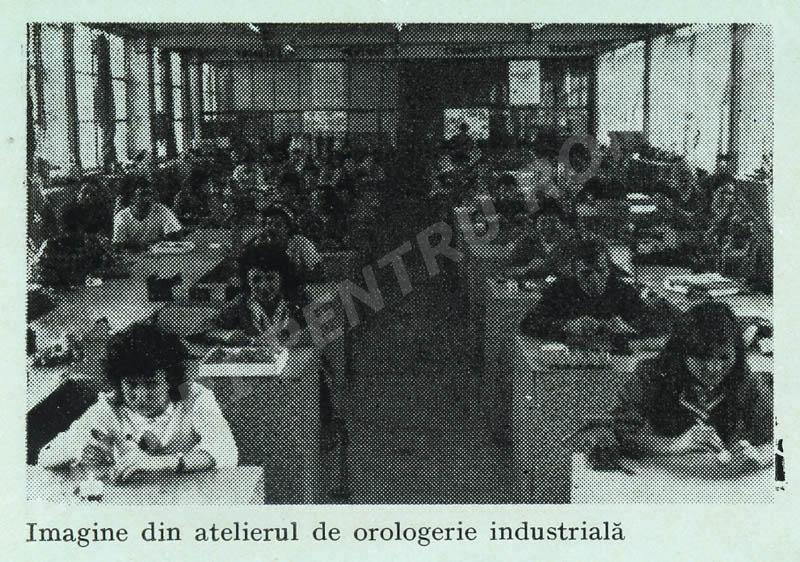 Atelier orologerie industriala MF