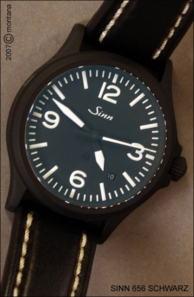 Sinn 656S - leather strap