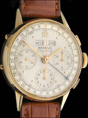 Sky Chief chrono gold14K triple