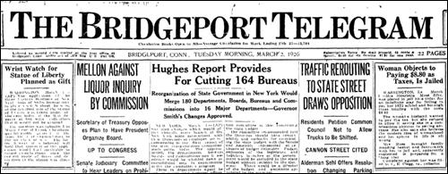 Benrus | 1 martie 1926