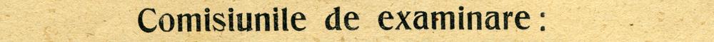 Bucuresti 1909 - Comisia de examinare ceasornicari