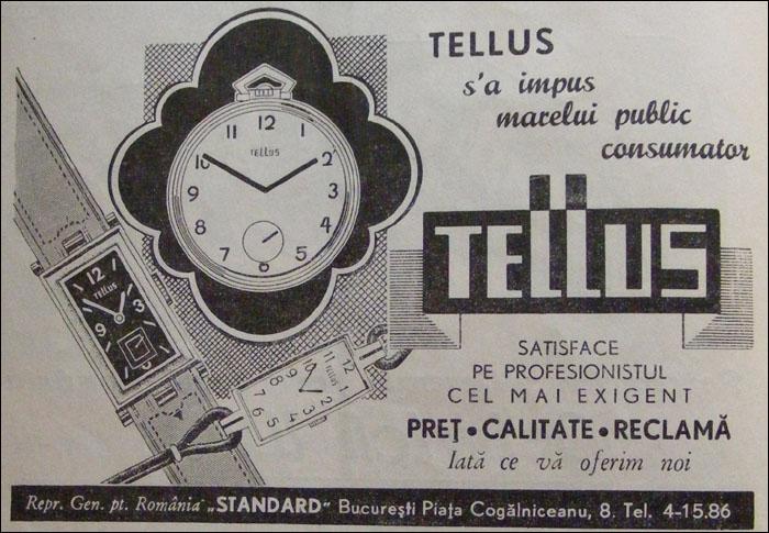 reclama Tellus | 1938