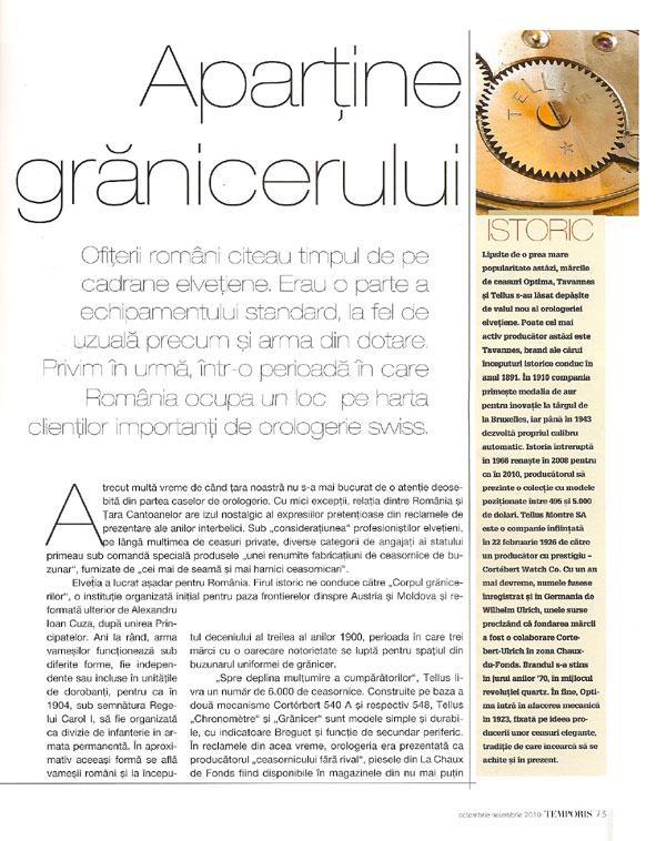 Temporis | Graniceri | octombrie-noiembrie.2010