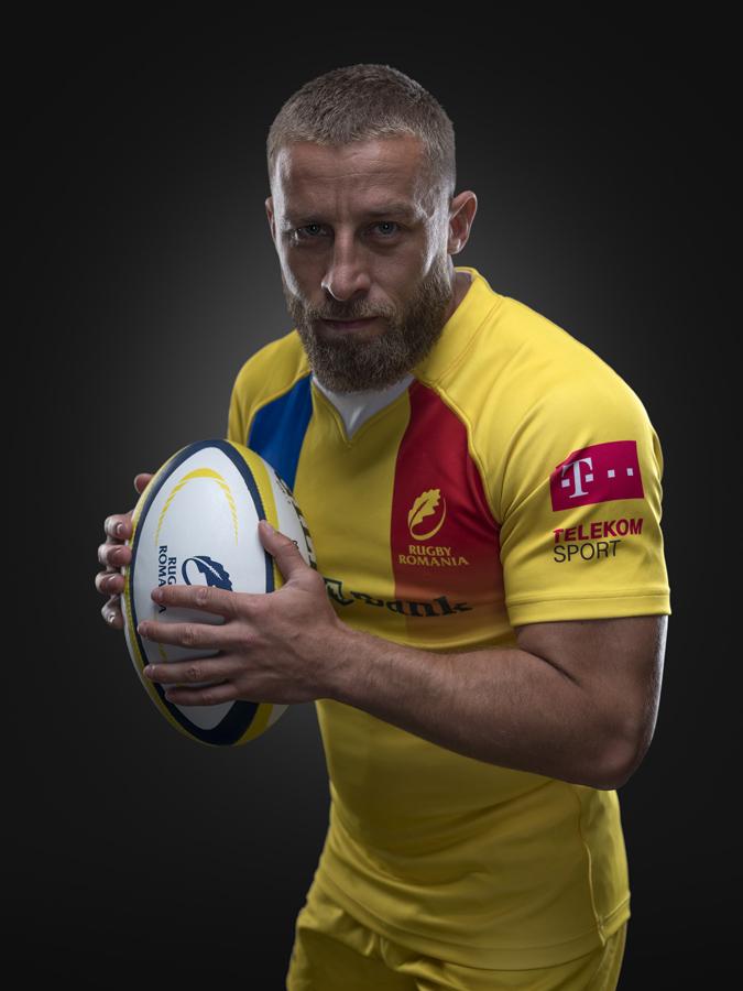[Florin Surugiu] jucator al echipei nationale de rugby