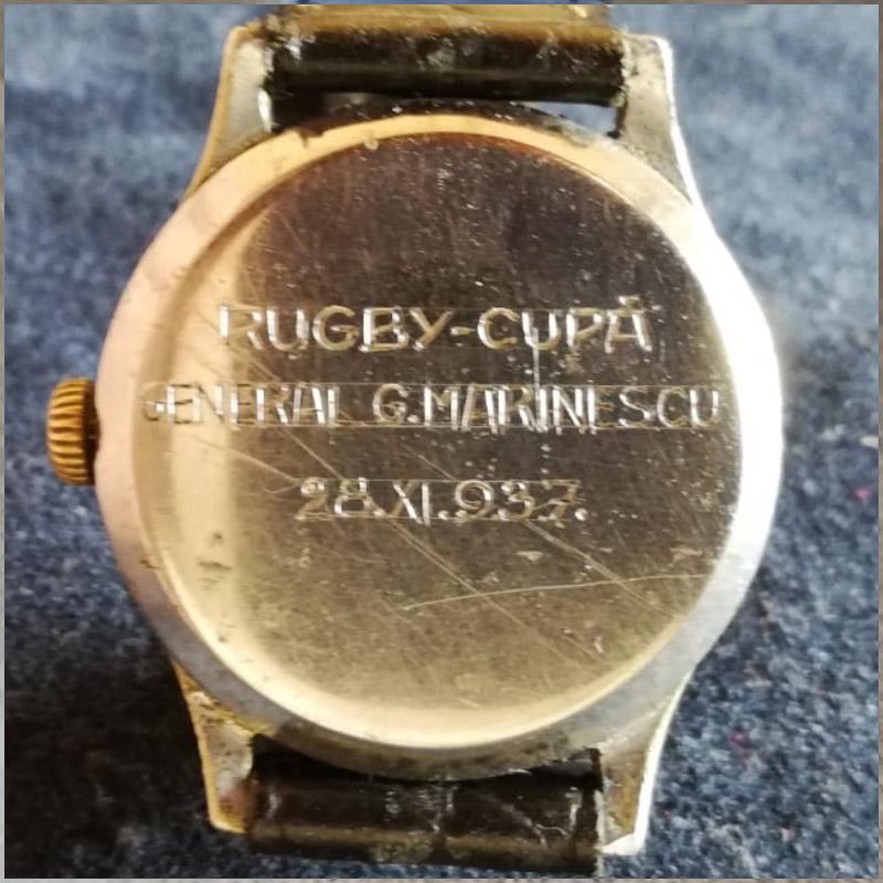 ceas Tissot - Rugby | Cupa General Marinescu 1937