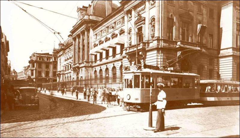 tramvai electric STB 1914