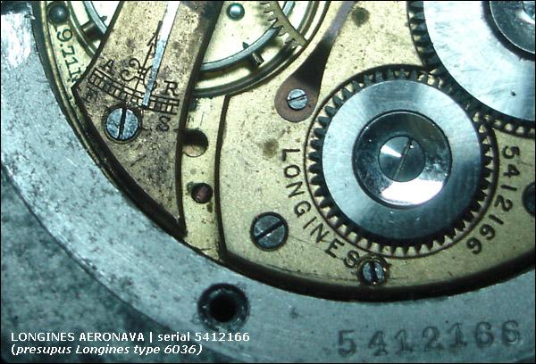 Longines type 6036