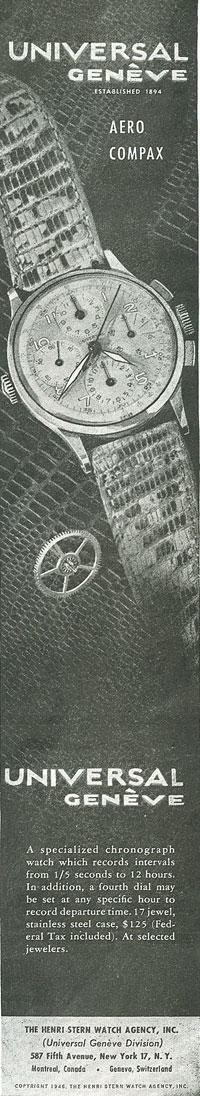 Aero-Compax | reclama 1946