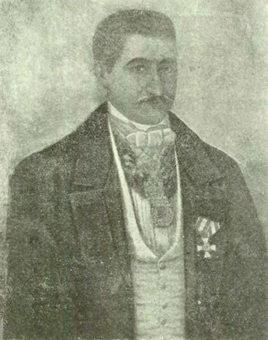 Ioan Manu | mare vornic și caimacam al Tarii Romanesti | 1858 [sursa imagine - Enciclopedia Romaniei]