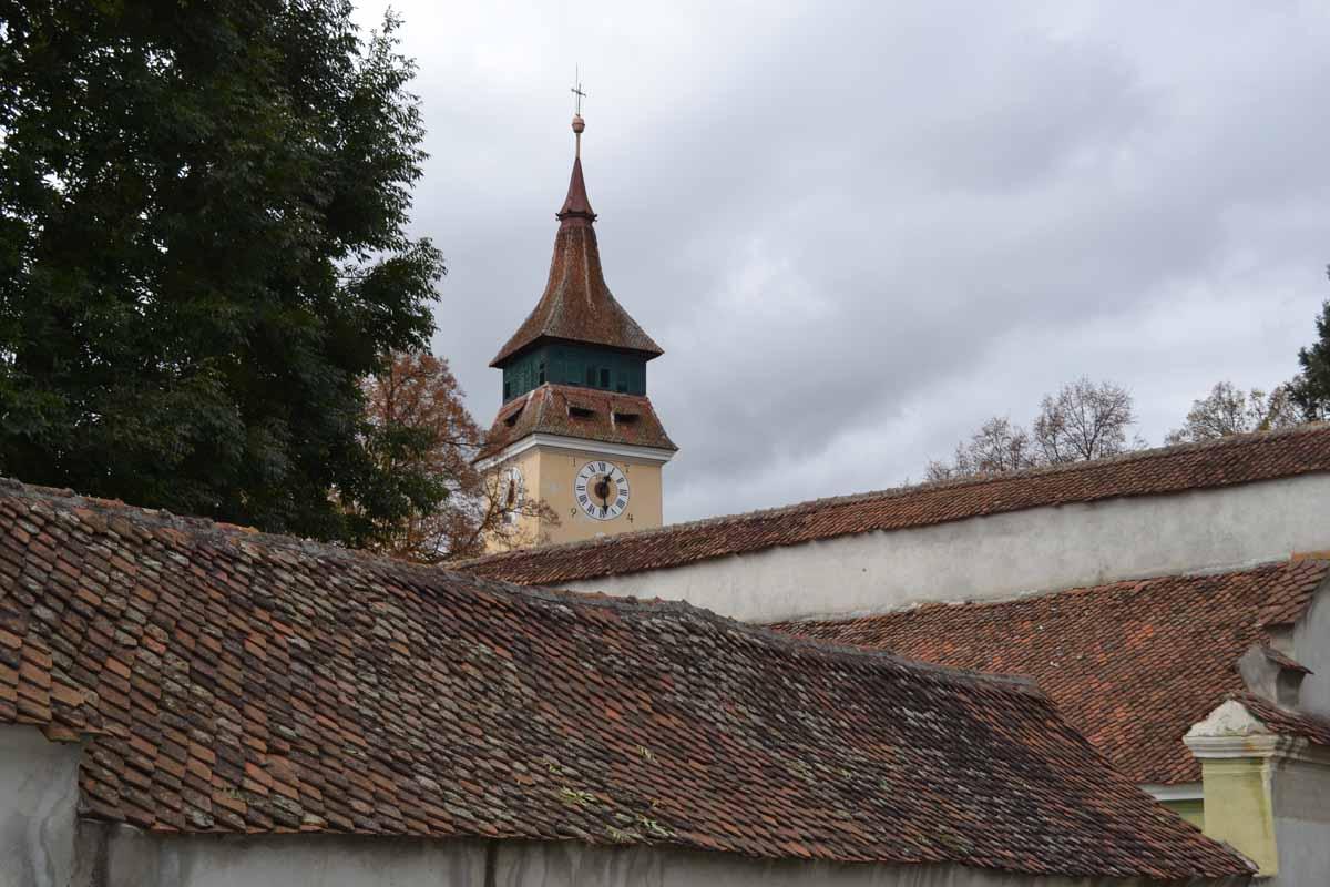 turnul cu ceas - biserica Vulcan